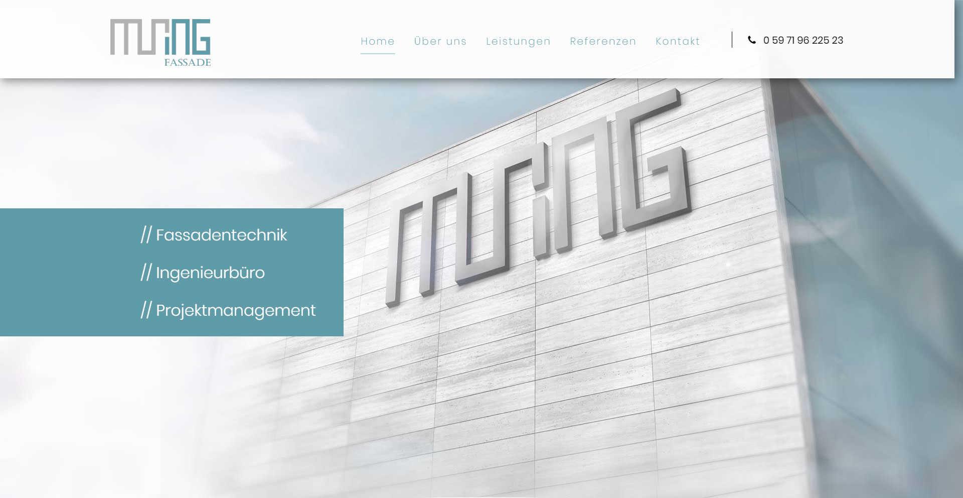 MURING Fassade - Rheine
