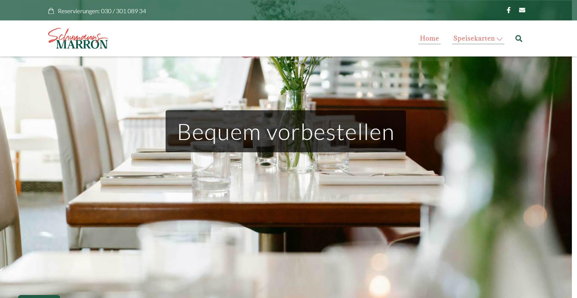 Schumannsmarron - Restaurant